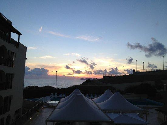 Calabona Hotel Alghero Sardegna : Sunset from our room