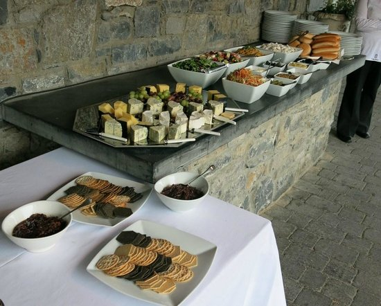 Castle Durrow : Absolutely delicious- wish I could have some more now!!!
