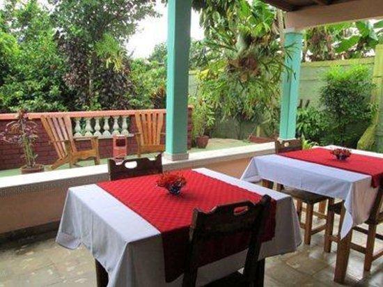 Casa Villa Caricia: eating area