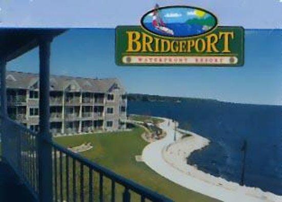 Bridgeport Resort: View from room