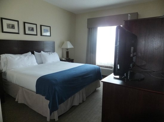 Holiday Inn Express Tower Center New Brunswick: King Bed