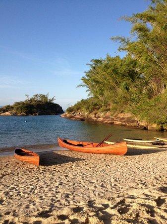 Ponta dos Ganchos Exclusive Resort: Praia Privada