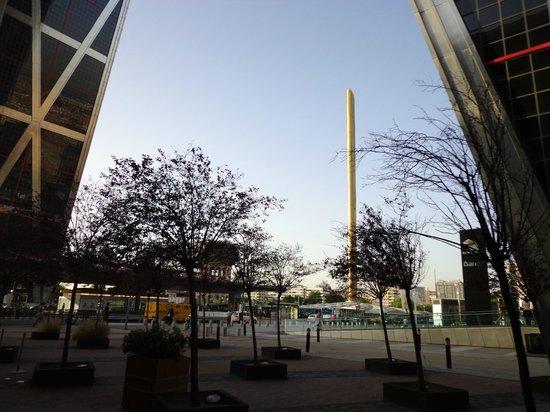 Hotel Exe Plaza: Vista da fachada do hotel