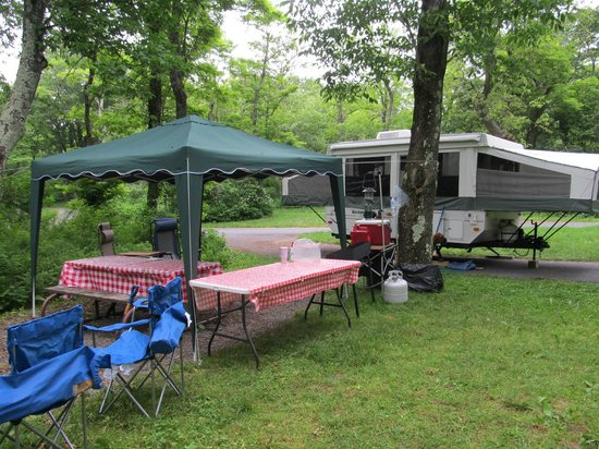 Loft Mountain Campground: Camping at Loft Mountain