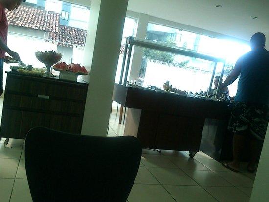 Vista Mar Hotel: Café da manhã