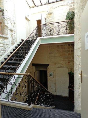 Hotel de Blauvac: scala liberty