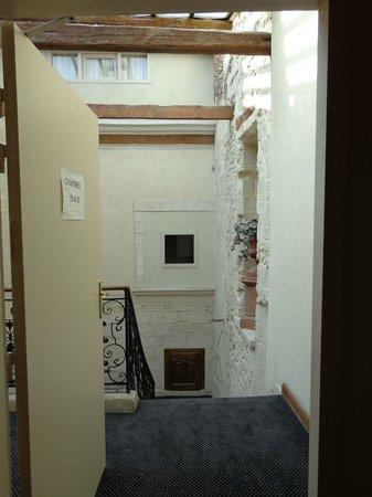 Hotel de Blauvac: hotel visione interna