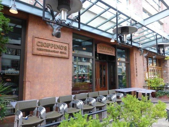 Photo of Italian Restaurant Cioppino's Mediterranean Grill at 1129 Hamilton St, Vancouver, BC V6B 5P6, Canada