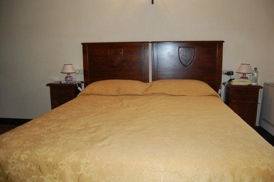 Abbazia San Pietro in Valle: Bed