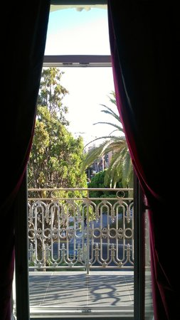 Villa Garbo: View from the living room