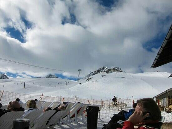 Club Med Saint Moritz Roi Soleil : Lunch on the mountain