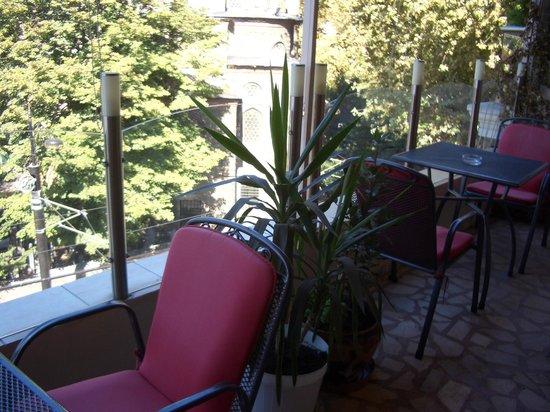 Merih 2 Hotel: テラスからの眺め