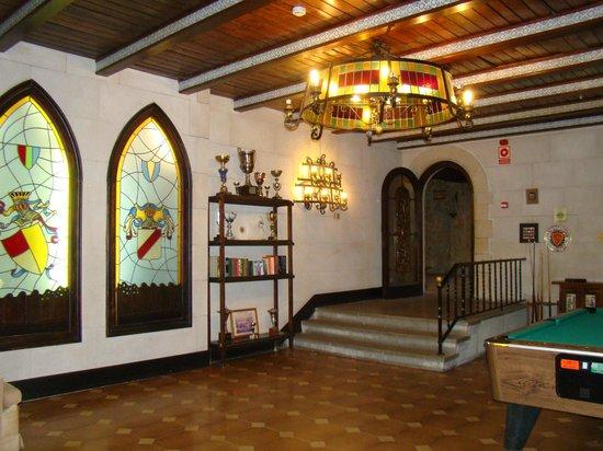 SERHS Vila de Calella : 1 этаж, там же бильярд