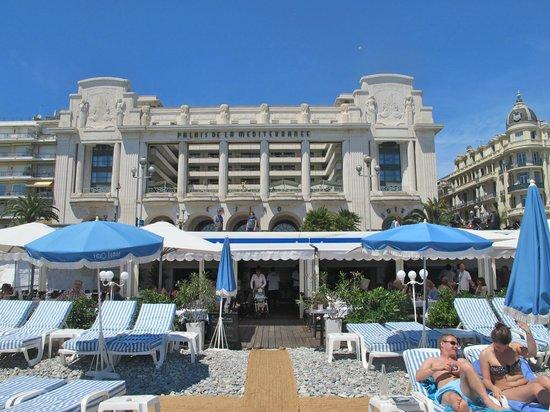Préférence Facade - Picture of Hyatt Regency Nice Palais de la Mediterranee  WZ07