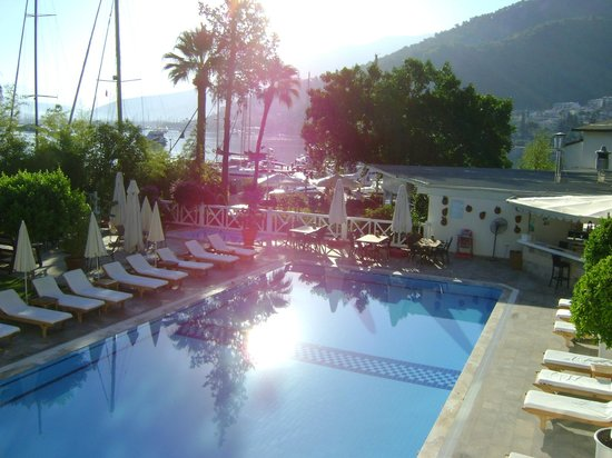 Marina Boutique Fethiye  Hotel: view from hotel building