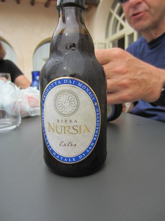 Delicious local beer made by monks