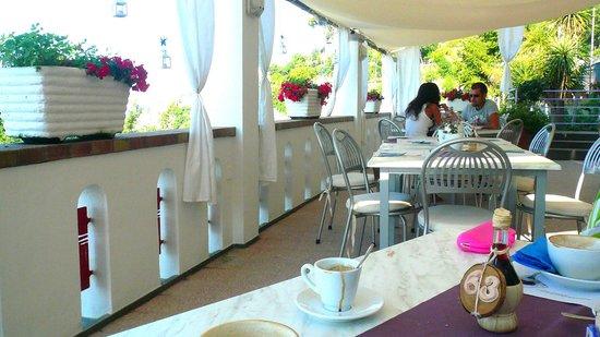 Hotel Bacco: colazione con panorama