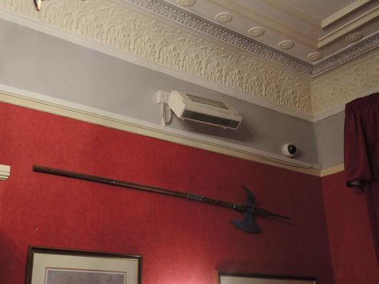 White Hart Hotel: high tech air conditioning