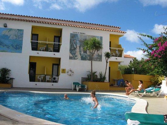 Sa Paissa: the pool