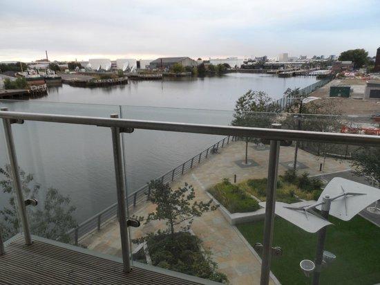 The Heart Apartments - MediaCityUK: Balcony view