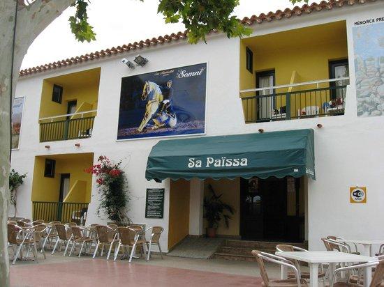 Sa Paissa: hotel front