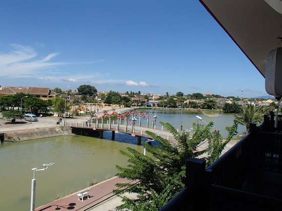 Little Hoian Boutique Hotel & Spa: View from the river suite