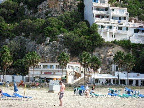 Sa Paissa: the beach