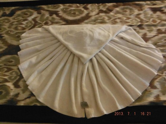 Grand Palladium Kantenah Resort & Spa: Towel art