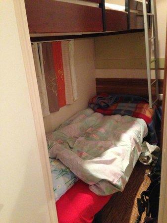 Camping les Bruyères: Petite chambre Mobil-home