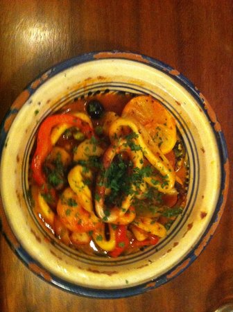 High Cafe: Seafood Tajine