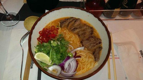 Wagamama: Chilli Beef Ramen £12.70