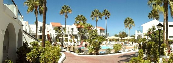 Nido del Aguila Lara Apartments: Quiet pool area