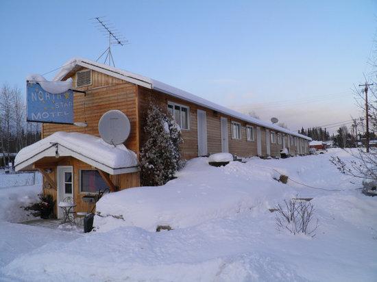 North Star Motel - Mayo: Beautiful, snowy winters.