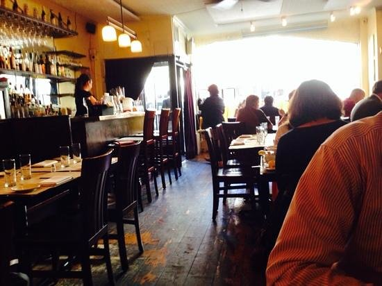 Cafe Joul : casual old world bistro setting