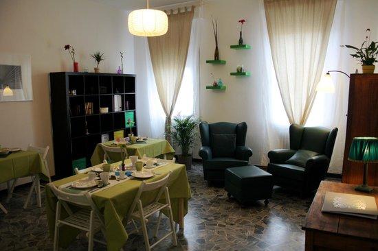 Artemisia B&B Ferrara : Sala delle colazioni