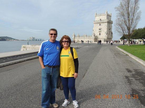 Hotel Jorge V: Torre de Bém em Lisboa