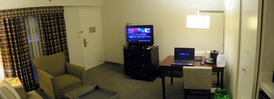Embassy Suites By Hilton Boca Raton: Living Room And Kitchenette ..Suite  #644 Part 87