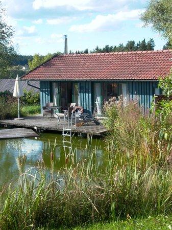 Hofgut Hafnerleiten: Bootshaus