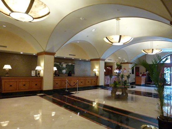 Panama Marriott Hotel: reception desk