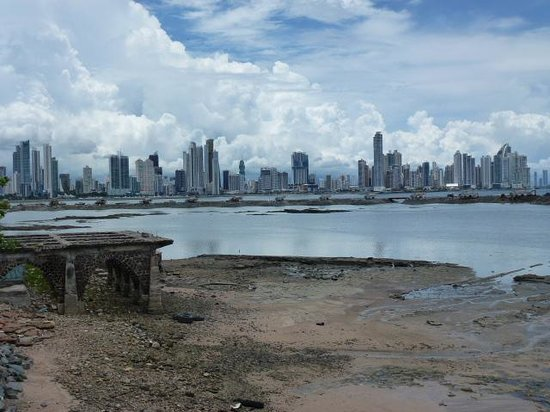 Panama Marriott Hotel: view of Panama City from the old town