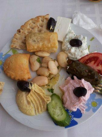 Restaurant Creta: Vorspeisenteller