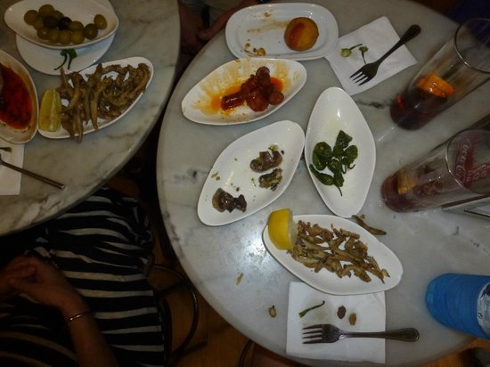 The Barcelona Taste: Authentic Tapas sorry we devoured them before I remembered pictures