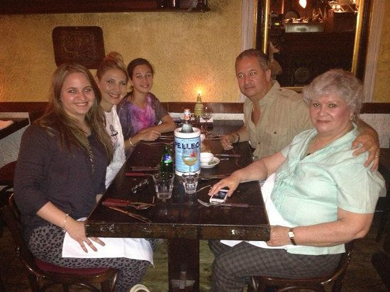 Giuliano's: Enjoying our last evening in Holland