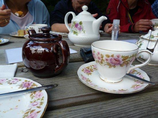Roses Pop Up Vintage Tea Room