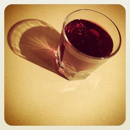 Da Nello il Vinaio - Osteria Senese : un gotto di rosso!