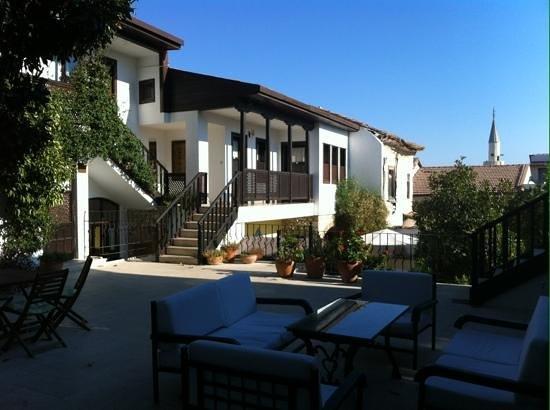 Villa Konak Hotel Kusadasi: Zicht vanuit onze kamer
