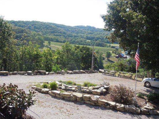 Stoneridge Farms Bed and Breakfast: Harvest Season Overlooking the Vineyard (Vidal Suite)
