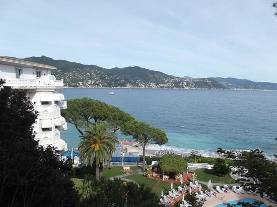 Grand Hotel Miramare : view from the hotel garden