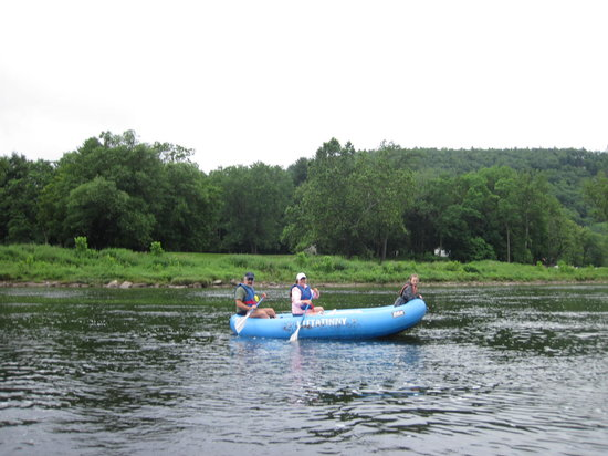 Barryville, NY: Delaware rafting