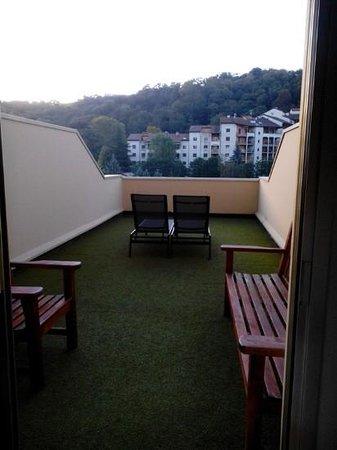 Hotel Lyon Metropole : la terrasse